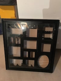 Black wooden framed wall picture frame and Jewelry box in side Canandaigua, 14424