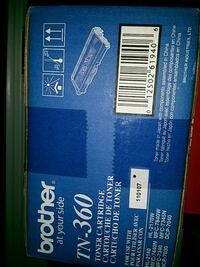 Brother tn360 toner brand new in sealed box Richmond, V7C