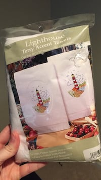 Lighthouse towels stitch kit  Gainesville, 20155