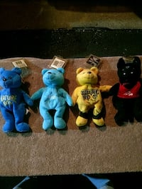 WCW Stuffed Bear set 4 pcs Manassas, 20110
