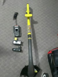 18V Ryobi Easy Edge Weedeater comes with  2 batteries  & charger