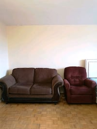 Love Seat + Recliner for $460 Toronto, M4V 1N5