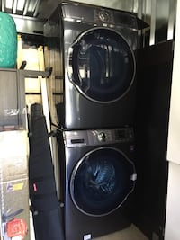 Samsung front load washer & dryer set 24 km