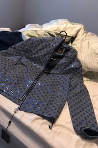 Louis Vuitton jacket and Dior jacket