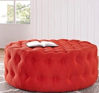 Amour Round Cocktail Ottoman Capitol Heights, 20743