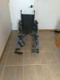 black and blue wheelchair Pomona, 91766