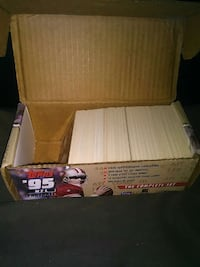 topps 95 nfl football trading card complete set box 548 mi