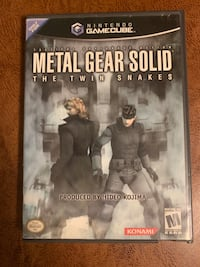 Metal Gear Solid: The Twin Snakes GameCube Game