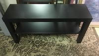 Small black IKEA tv stand