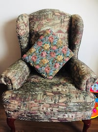 French arm accent chair Toronto, M3A