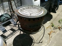 black and white metal charcoal grill San Diego, 92106
