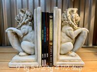 Heavy Stone/Plaster Sitting Lions Bookends Mesa, 85202