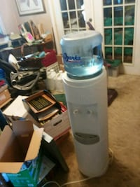 white and gray water dispenser Tuttle, 73089