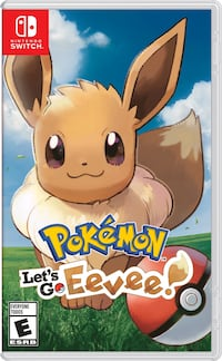 Nintendo Switch - Pokemon Let's go Eevee