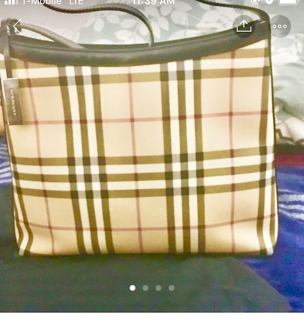 333587bd571e Used Authentic Burberry shoulder bag for sale in San Jose - letgo