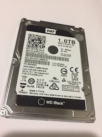 Western digital hard disk drive 1tb all tested 100% in excellent condition. Test can be cared out at pick up. Toronto, M4B 1N7