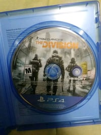 Tom Clancy's The Division PS4 game disc Largo, 33773