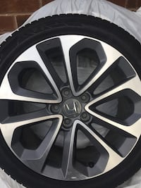 Hankook Winter Tires w Original Honda Rims Pickering, L1X 0A4