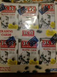 Unopened 101 Dalmations collecting cards