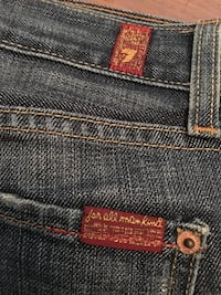 7 for all man kind women's jeans 27 bootcut New Westminster, V3M 1K2