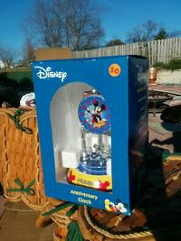 Disney Anniversary clock inside glass dome with box District Heights, 20747