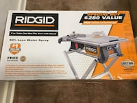 Brand NEW Ridgid 6.5 Amp 7 in. Table Top Wet Tile Saw w/ Bonus Stand & Extra Bonus Blade Springfield, 22152