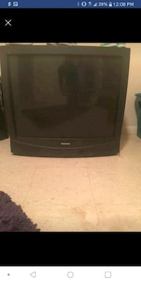 black CRT TV with remote Tulsa, 74126