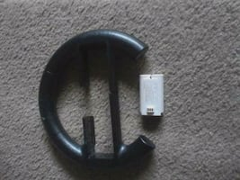 Wii REMOTE CONTROLLER and battery pack