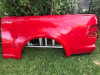 2003 ford f-150 tailgate, left rear fender, and bed cover