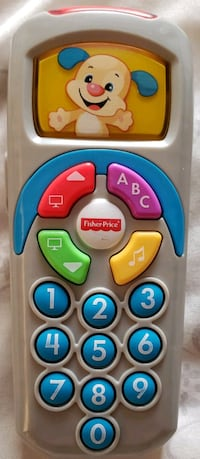 Fisher-price Laugh n Learn Puppys Remote - $7 Toronto, M9B 6C4