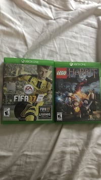 Xbox One Games FIFA 17, Lego the Hobbit, Disney Infinity 2.0 Marvel Starter Pack + Spider-Man and Nova Gainesville, 20155