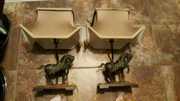 HORSE LAMPS FOR SALE!