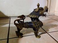Bronze foo dog circa 1960 Sebring, 33870