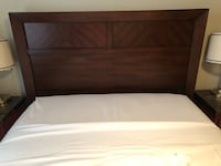 Queen bed frame from Decorium. Solid Wood Toronto