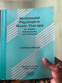 Multimodal Psychiatric Music therapy 4 adults, adolescents & children Bowie, 20721