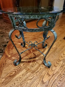 Selling Glass Side Table!