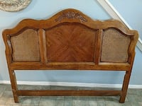 Hooker Queen size oak head board  Ridge, 11961