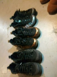 pair of black-and-brown basketball shoes Baltimore, 21218