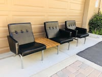 Mid Century Sofa & Arm Chair by All Steel Furniture  Camarillo, 93012