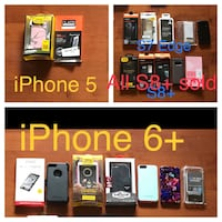 New, unused.... cell phone cases and screen protectors  St Thomas, N5R 6M6