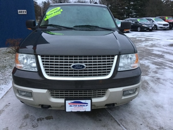 *THIRD ROW* *CLEAN CARFAX* 2006 Ford Expedition 4dr Eddie Bauer 4WD -- Ask About Our Guaranteed Cred 55308ea7-67dc-4032-ae72-f09088ecadc9