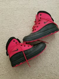 black-and-red Nike high-top boots Temple Hills, 20748