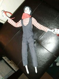 Porcelain Mime Doll