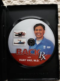BACK Rx: Exercises for STOPPING BACK PAIN dvd