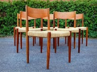 Vintage Midcentury Paul Bolted Donning chairs Châteauguay