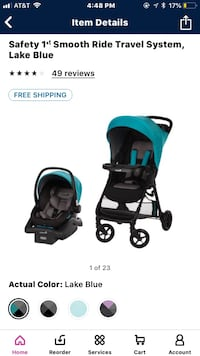 Safety 1st Stroller and Car Seat Travel System Marshall, 20115