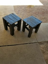 two black wooden side tables Mesa, 85210