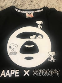 Snoopy Aape designer clothes