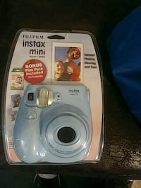 blue Fujifilm Instax mini instant camera with pack Canton, 28716
