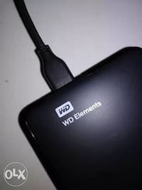 2Tb Black Western Digital Elements External Delhi, 110007